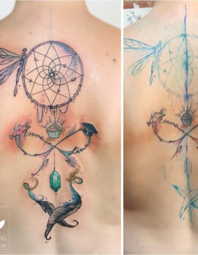 Traumfänger & Infinity Pimp my Tattoo