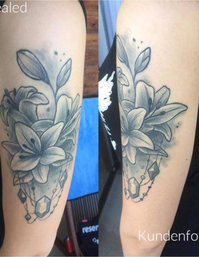 Lilien verheilt