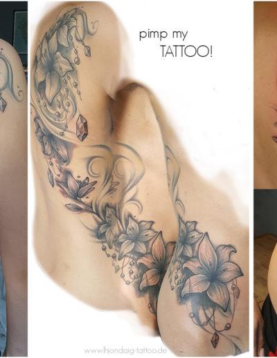 Lilien Pimp my Tattoo