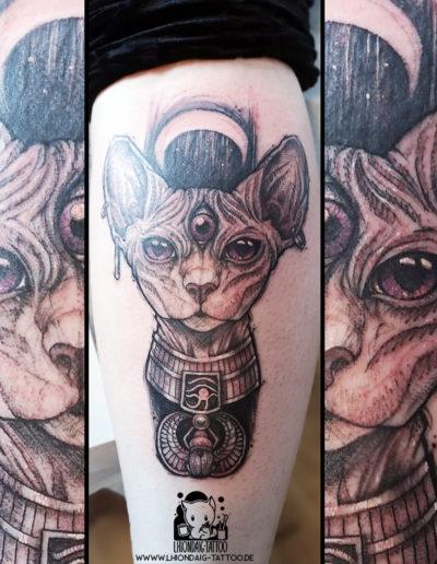 Spyhnx Tattoo