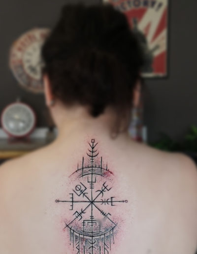 Vegvisir Sketchy Tattoo
